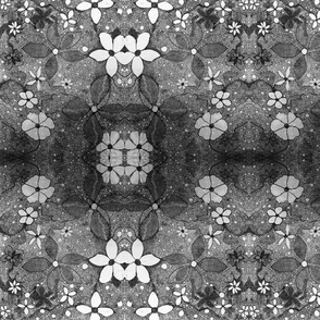 FLOWERS IN LACE INVERT 2