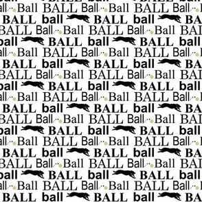 Ball! - black/white