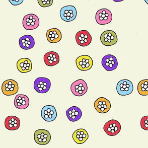 flower_buttons_green_beige