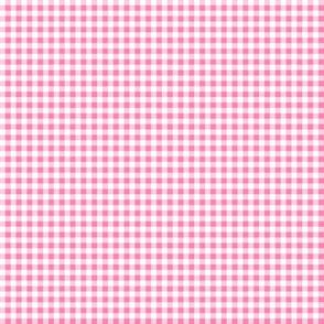 Pink Gingham - 1