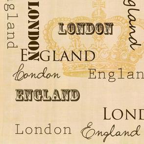London England Crown