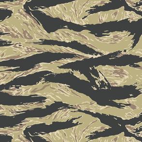 Golden Tiger Stripe Camo