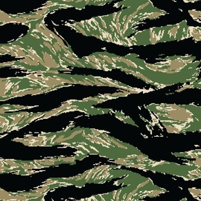 Digital Tiger Stripe Camo