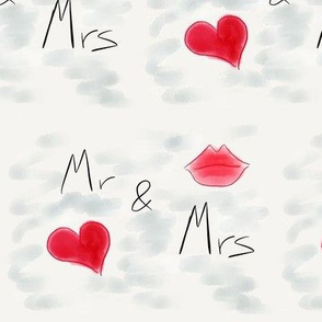 Mr and mrs lips