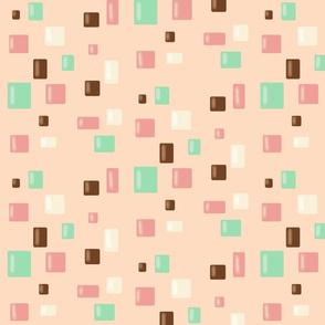 Candy Confetti on Pink Lemonade