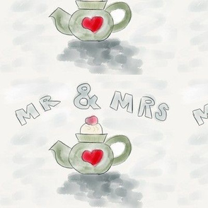 Mr and mrs teapot