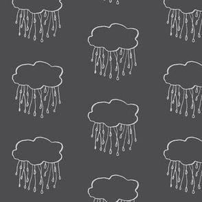 rain cloud charcoal