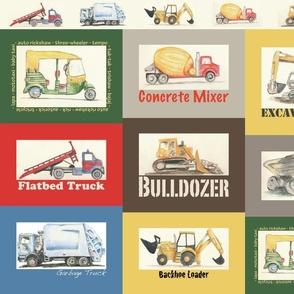 Truck T-shirt appliques