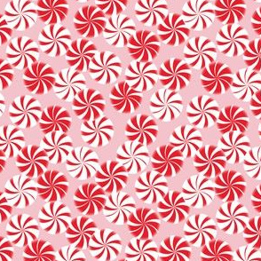 Peppermint on Pink
