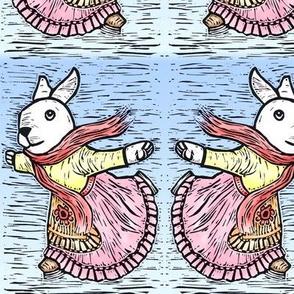 Skating Bunny 1