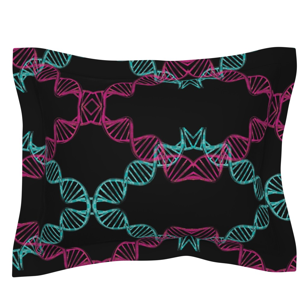 Sebright Pillow Sham featuring dna_candy by snork