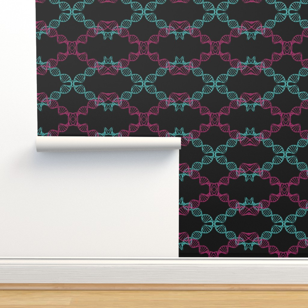 Isobar Durable Wallpaper featuring dna_candy by snork