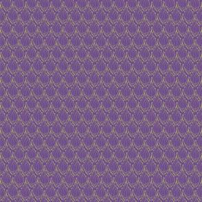 Purple Agave Leaf