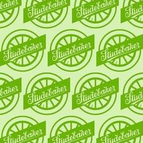 Studebaker Wheel Logo 1920s green