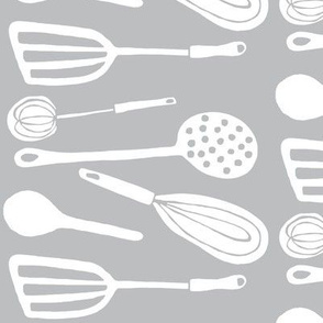 Magic Kitchen Tools (driftwood grey & white)
