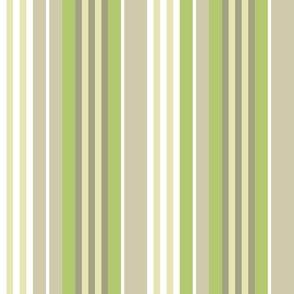 Bognor Stripe in pistachio