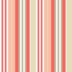 Bognor Stripe in candy floss