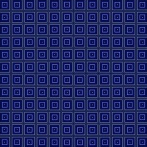 Simple Navy Squares © Gingezel™ 2013