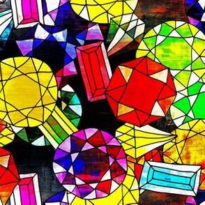 Zodiac Gemstones-Small (Deep 1)