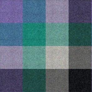 6th Doctor's collar- and pocket tartan