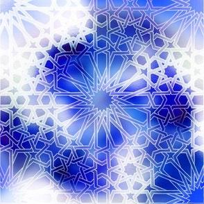 Alhambra Design Blue