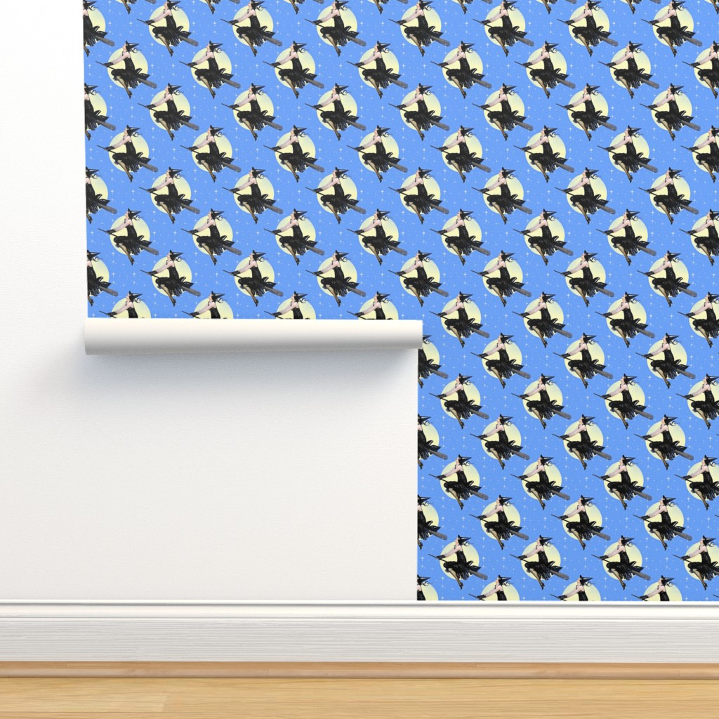 Isobar Durable Wallpaper featuring Modern Witch by mandamacabre