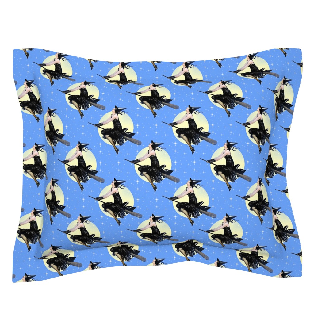 Sebright Pillow Sham featuring Modern Witch by mandamacabre