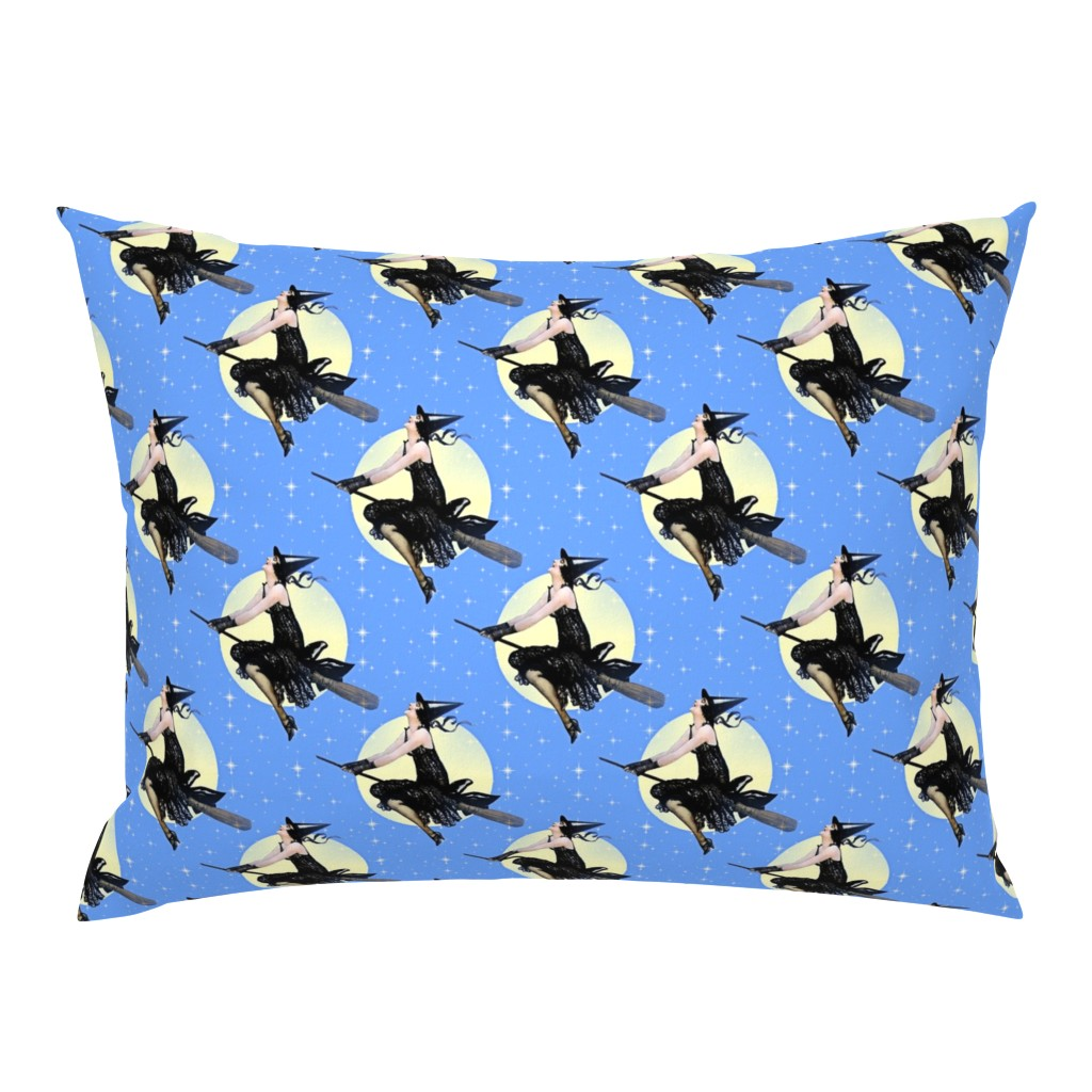 Campine Pillow Sham featuring Modern Witch by mandamacabre