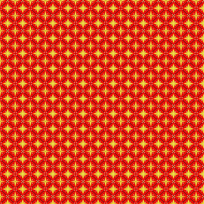 Red and yellow bitty