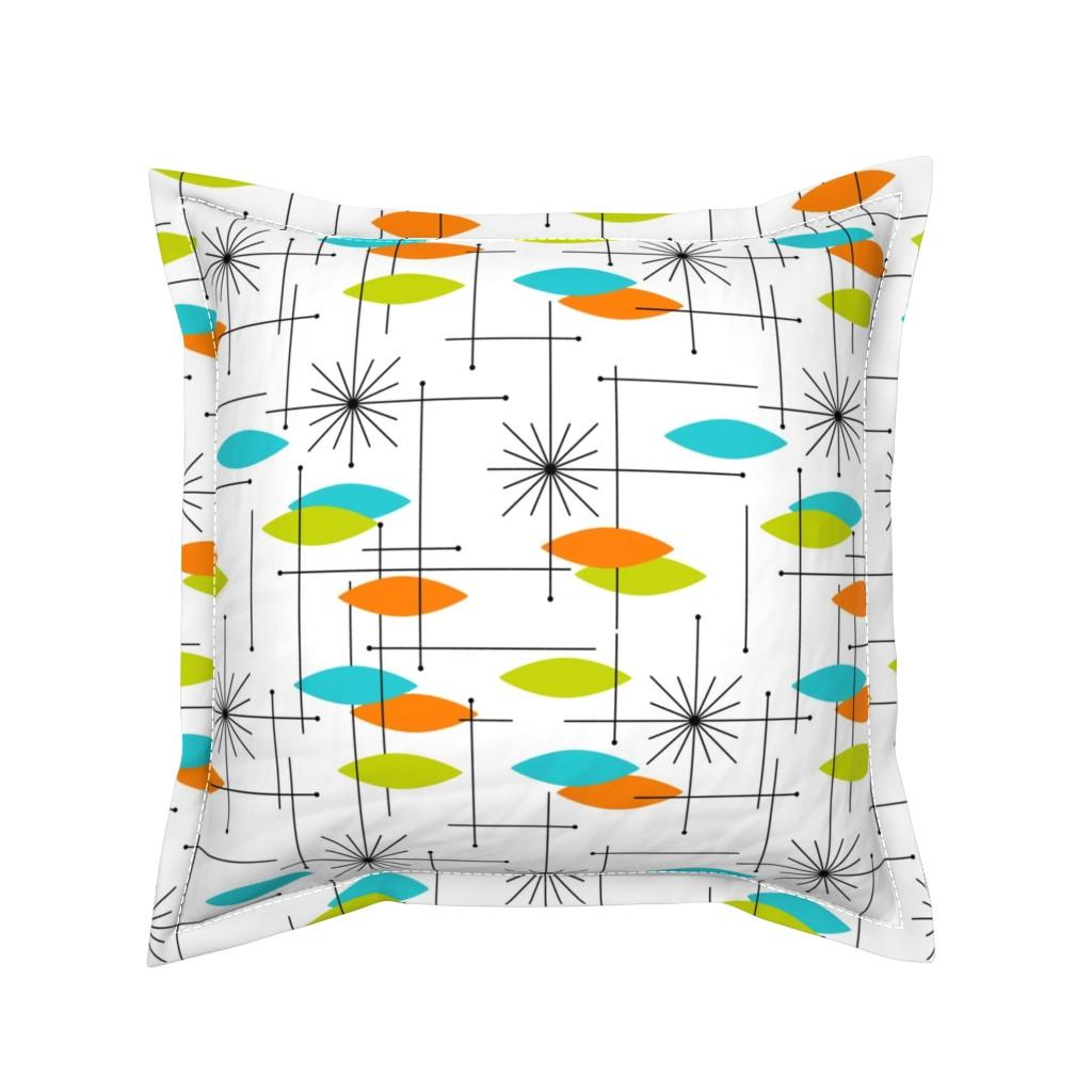 Serama Throw Pillow featuring Orbs - #2LOAWH1 (large) by tonyanewton
