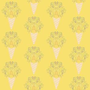 Fairground Print Yellow