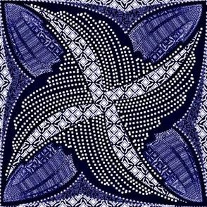 spindots afrikans ink blue