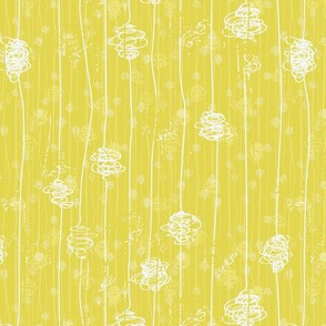 Butterfly Cocoons - yellow