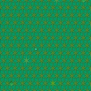 star grid emerald