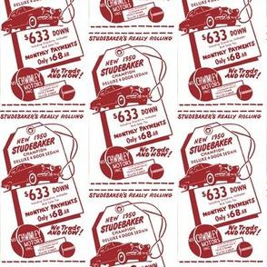new 1950 Studebaker Champion advertisement Sacramento CA