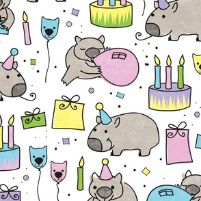 Happy Birthday Wombat!