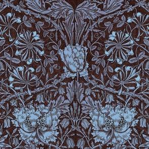 William Morris ~ Honeysuckle Twilight