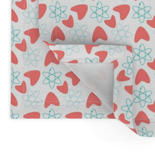 Atomic Boomerangs Boomerangs Atomic Cotton Dinner Napkins by Roostery Set of 2