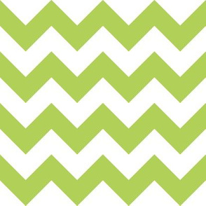 Zig Zag Chevron Apple Green