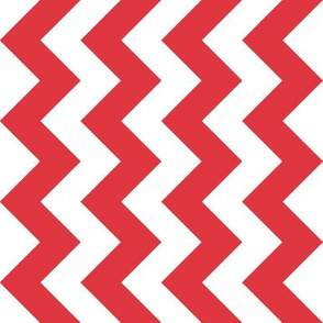 Chevron Railroaded Red