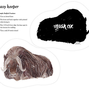 Musk Ox Stuffee