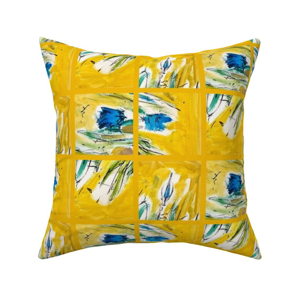 Catalan Throw Pillow featuring French  Landscape by dorothyfaganartist