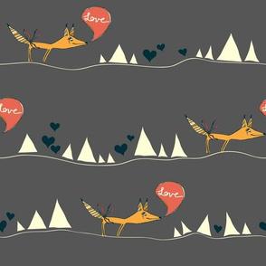 Desert Love Fox