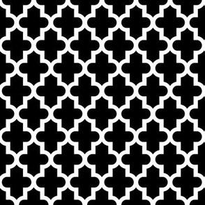 Black and White Moroccan