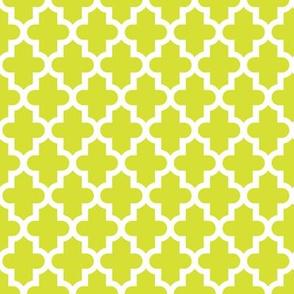 Lime Green Moroccan