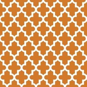 Burnt Orange Moroccan