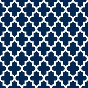 Navy Blue Moroccan