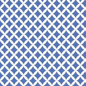Royal Blue Modern Diamonds