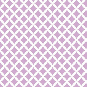 Lilac Purple Modern Diamonds
