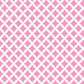 Bubblegum Pink Modern Diamonds